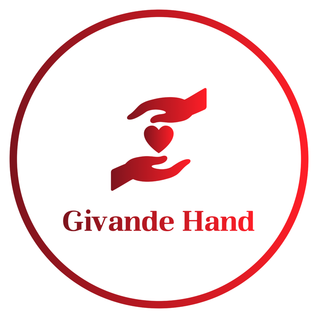 Givande hand logo